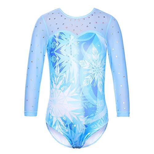 HUAANIUE Girl Gymnastics Leotard Sleeveless Diamond Splice Tank Leotard...