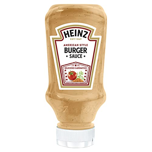 Heinz -American Burger Sauce with Worcester Sauce (Mustard and Dill) - Delicious and Aromatic - 230 grammi