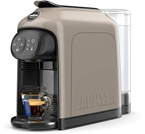 Lavazza A Modo Mio Idola Kaffeekapselmaschine, Beige-Grau