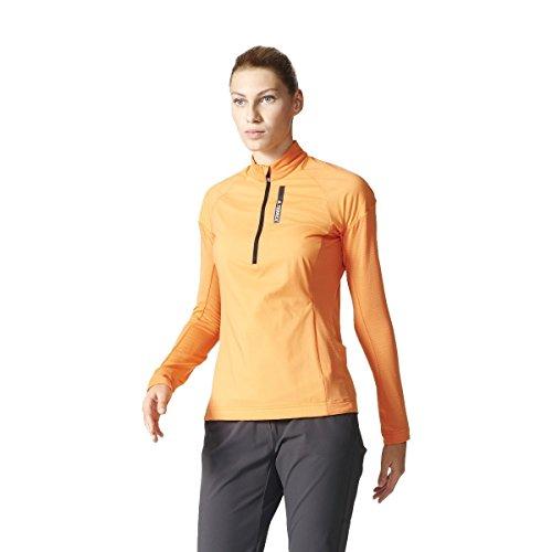 adidas kvinnors skyclimb teknisk t-shirt Multi-color/Narsen Size 42