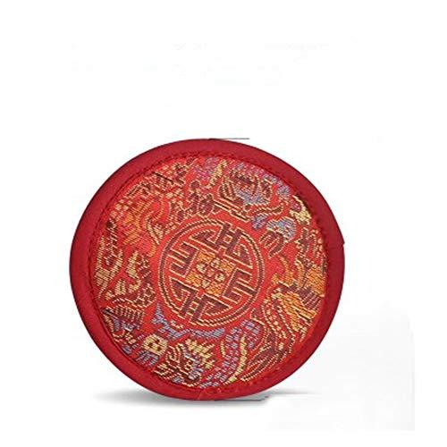 FFDGHB Nepalese handgemaakte soundpad Zen theepot mat Boeddha klankschaal basis doek rond
