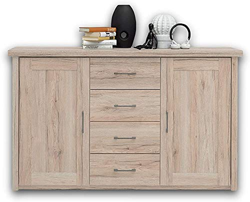 ,Oak-Chest of drawers