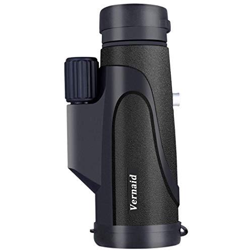 WEI-LUONG Telescopio monocular 16X50 HD de Alta Potencia del telescopio de visión Nocturna Totalmente versátil Recubierto Clip Teléfono Vidrio óptico de la Lente + trípode + al Aire Libre