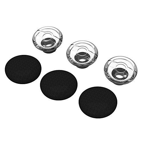3X Earpieces for Plantronics Voyager Legend Eartip Kit,Plantronics Voyager 5200 5220 5210 Bluetooth Headset Foam Covers-Medium