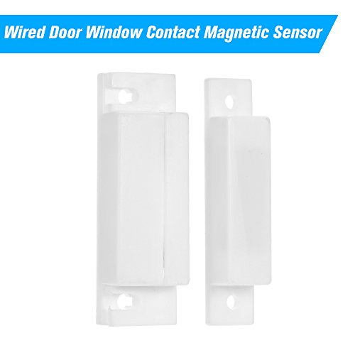 OWSOO Reed-Schalter-Warnung Verdrahteter Tür Fenster Kontakt Magnetsensor-Intrusion Detector Reed-Schalter-Warnung für Warnungssystem