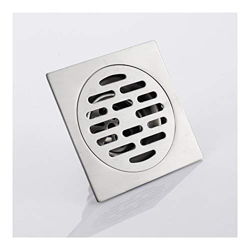 Handheld Cuadrado de acero inoxidable Desodorante Baño Ducha Drenaje de piso for baño familiar Baño Cocina Ducha Drenajes de piso Para el baño