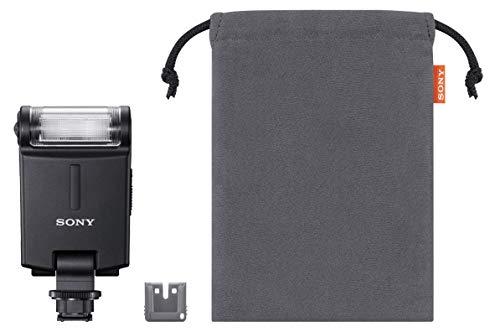 Sony HVL-F20M Kompaktblitz (Leitzahl 20 - 50mm Objektiv, ISO 100 für Multi-Interface Zubehörschuhsystem)