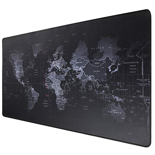 Ruifengsheng Extended Gaming Mouse Pad XXL Mouse Mat Large Mouse Pad Non-Slip Professional Precision Tracking Surface (35.4' x 15.7') 90x40 (90x40 R11)
