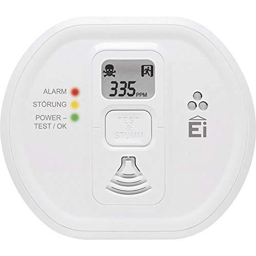 Ei Electronics Ei208D-3X179 Gasmelder inkl. 10 Jahres-Batterie batteriebetrieben detektiert Kohlenmonoxid