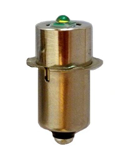 LED Upgrade Cree Bulb for Power Tool Torches 6v to 30v, 14.4v, 18v, 24v,Bosch Ryobi Makita DeWalt etc UpLED