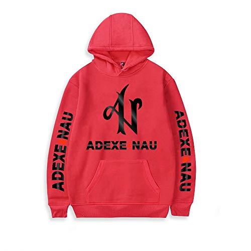 WAWNI Adexe & Nau Print - Sudadera con capucha unisex