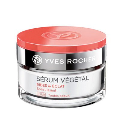 Yves Rocher - Crema antirughe da giorno SÉRUM VÉGÉTAL (50 ml):Crema viso anti-età per una pelle più luminosa.