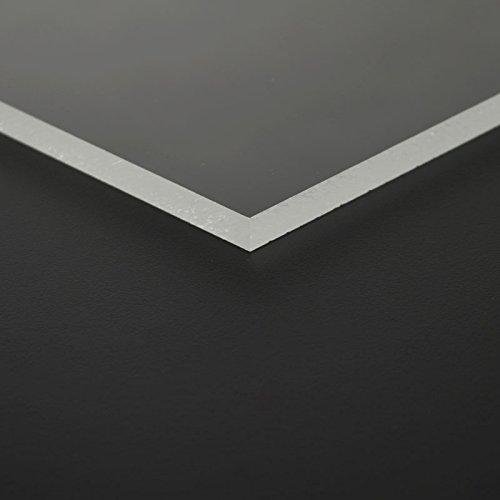2mm MAKROLON® transparent UV 2099 Platte 100x100 cm