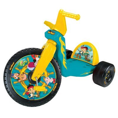 Jake and the Never Land Pirates Big Wheel Tricycle by Kids Only