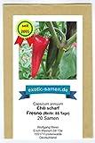 RWS Fresno - rojo picante de chile - al igual que jalapeño - 20 semillas