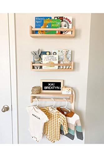 CZLSD Niños Bookshelf Bookcase Montessori Kids Room Library Mueble Mueble Wood Novarnish Natural Baby Room Room Wall Nordic Sólido Montado Montado Dormitorio Sala de Estar Decoración 2021