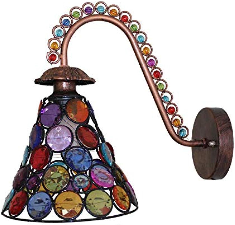 AGECC 110-230V Wandleuchte Lampe für den Innenbereich Einfache lndliche Kinder Cartoon Lampe Nachttischlampe Korridor Lampe Objektiv Scheinwerfer Schnheit, Single Head