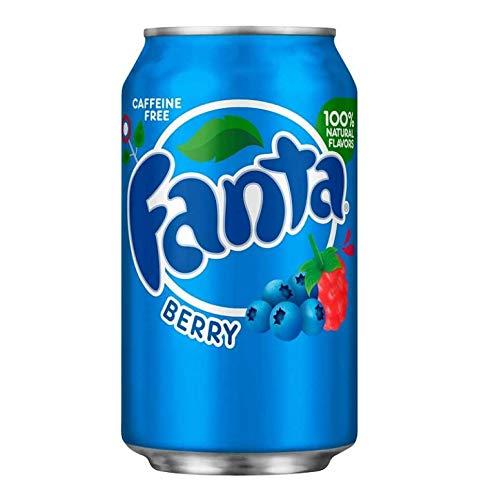Fanta Berry Dosen 355 ml (12 Stück)