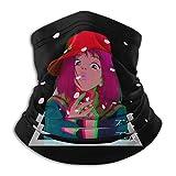 XXUU F-L-C-L Anime Divertido Mascarilla Unisex Protector de Cuello de Microfibra Multifuncional...