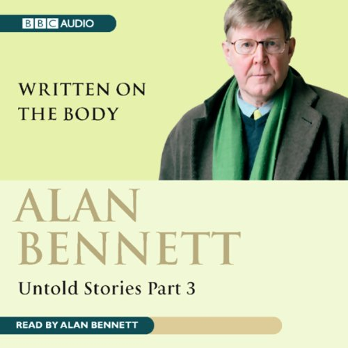 Alan Bennett audiobook cover art