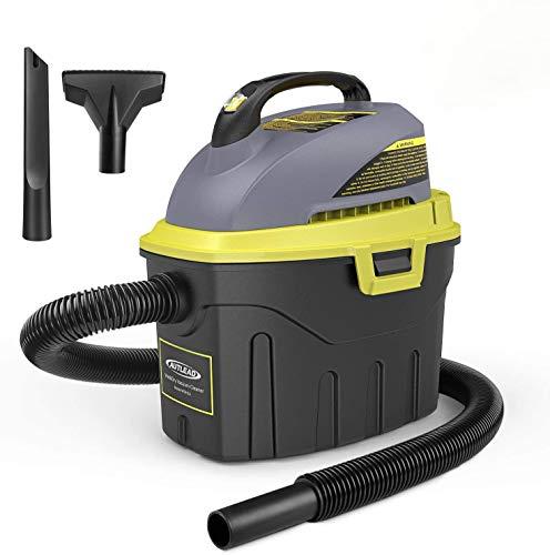 AUTLEAD nass trockensauger, 1000W 12L Tragbarer wassersauger mit 2 Düsen, Schalldämpfer, kompakt, handlich und energiesparend, für Haus, Auto [Energieklasse A]