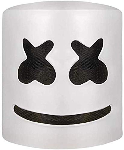Miminuo Festival de música Accesorios de la máscara de Halloween Máscara Principal Completa Disfraces de Halloween Máscara de Cosplay