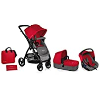 Be Cool Jane Trio Slide 3 Top Plus Be Red 2019 - Cochecito modular