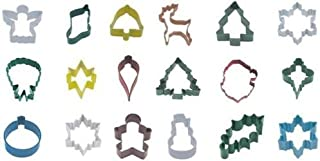 MISSY MOO 6 x Christmas Theme Shaped Cookie Cutters - You Choose The Design