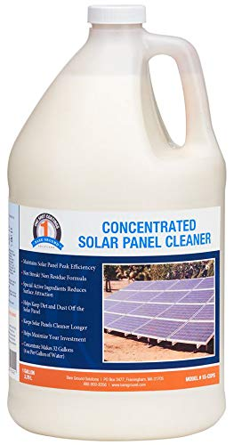 One Shot 1S-CSPC Solar Panel Cleaner Concentrate - Makes 32 Gallons, 1 Gallon