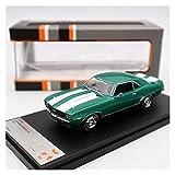 Fábrica Original 1:43 For Chevrolet Camaro RS 1969 Simulación De Aleación Estática Modelo De Coche Colección Regalo Juguete Artesanías (Color : 1)