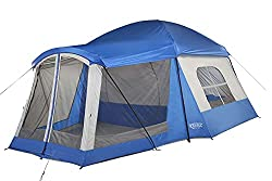 tent with air conditioner slot