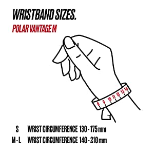 POLAR VANTAGE M –Advanced Running & Multisport Watch with GPS and Wrist-based Heart Rate (Lightweight Design & Latest Technology), White, M-L