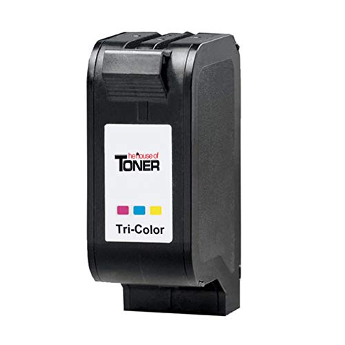 The House of Toner Compatible Ink Cartridge Replacement for HP C6625AN (17, Tri-Color) use in Deskjet 825c, 825cvr, 840c, 841c, 842c, 843c, 843cxe, 845c, 845cvr