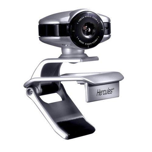 Hercules Dualpix HD - Webcam (30 pps, 3X, USB, 1,8 m, -30-30°, Webcam Station Evolution)