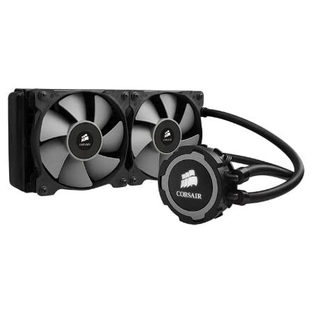 Corsair CW-9060016-WW Hydro Series H105 240mm Rad Extreme Performance All-In-One Liquid CPU Cooler