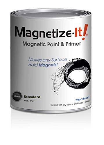 Magnetize-It! Magnetic Paint & Primer – Standard Yield 32oz, MISTD-1530