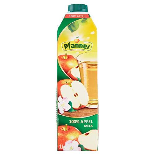 Pfanner Succo 100% Mele senza Zuccheri Aggiunti - 1 Litro