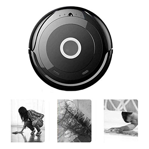 Buy Discount KJRJX Robot Vacuum, acuum Cleaner, 360° Smart Sensor Protectio, Super Quiet Multiple C...