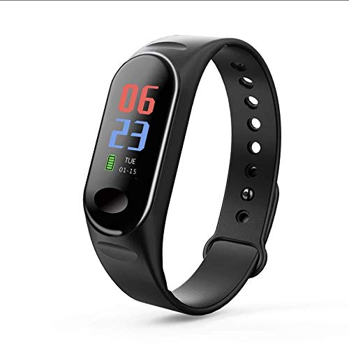 Strong Durable Best Bakeey Heart Rate Blood Oxygen Pressure Monitor 0.96inch TFT Color Display Multi-Sport Modes Smart Watch