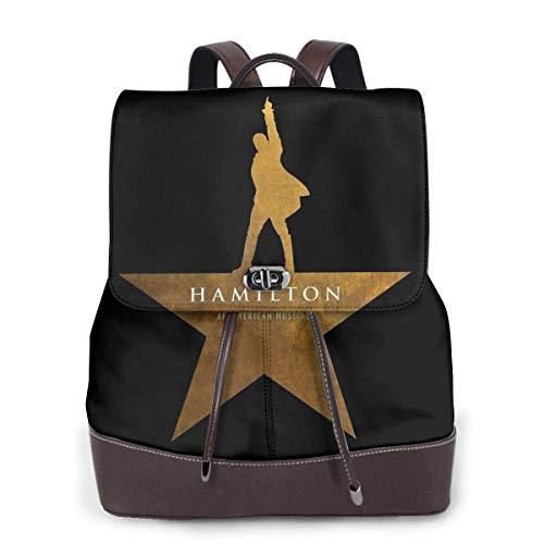 Flyup Fashion Casual Women Girl Hamilton Womens Leather Multifunction Backpack