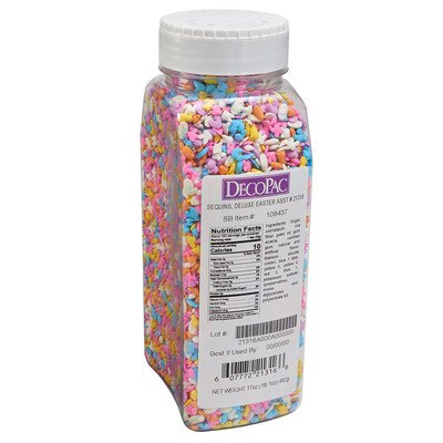 17 oz  Deluxe Easter Quin Sprinkles Mix