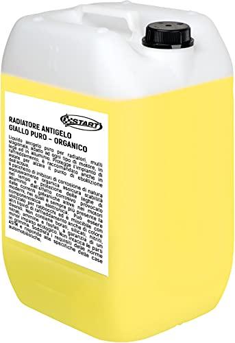 START Líquido Radiador Anticongelante Puro Long Life Amarillo 25KG
