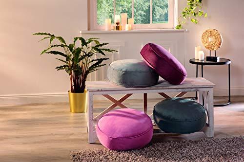 AVANTEX Stuhlkissen 40x40 cm, 10cm Bequeme Auflage für Stühle/Bänke, Polsterauflage, Sitzkissen, Sitzauflage in 4 Farben zur Auswahl, hellgrau, 5910049