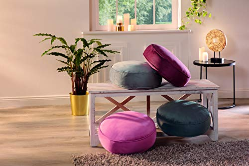 Cojín para Silla, 40 x 40 cm, 10 cm, cómodo cojín para sillas/Bancos, Acolchado, cojín de Asiento