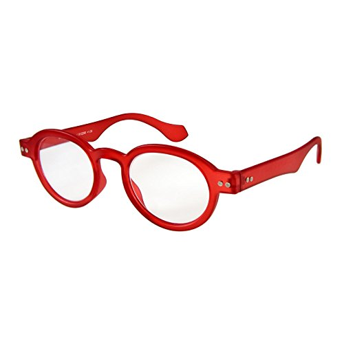 I NEED YOU Lesebrille Doktor Limited / +3.50 Dioptrien / Rot