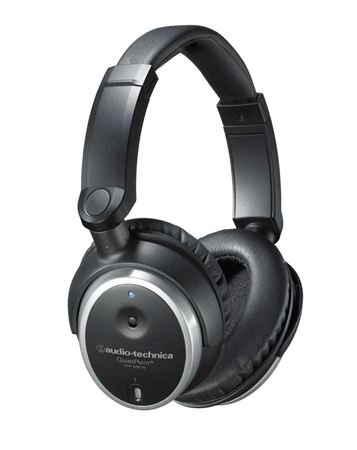 Audio-Technica ATHANC7B QuietPoint Active Noise Cancelling Headphones