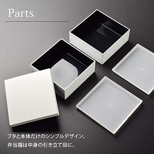 NOMARKミニ重箱ホワイト2段