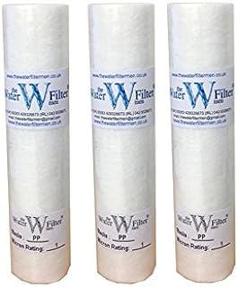 """The Water Filtre Hommes 3x10 """"PP (1Mic) PP Sédiment 1 Mic MIC Sédiment Particule Osmose inverse Osmose Cartouche de filtre..."""
