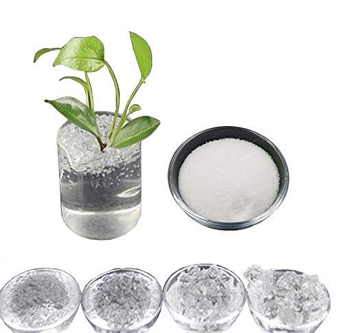 100 gr - hydrogel kaliumkristallen superabsorberend polymeer polyacrylaat sap om superterra te creëren voor tuinieren bloemen landbouw teelt
