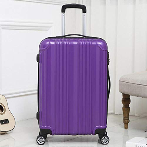 NTR WomanTravel Suitcase with wheels Rolling Carry On Luggage Man 20/24inch Box laptop,C,24'